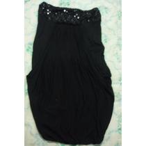 Vestido Bershka Talla M Color Negro