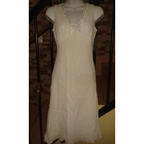 Bello Vestido Casual Blanco
