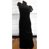 Vestido Vintage Negro Aterciopelado