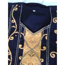 Elegante Vestido De Noche. Corte Arabe. Importado