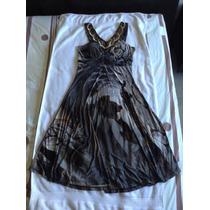 Vestido Casual Para Cóctel Colores Degradados. Talla 8