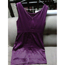 Vestido Color Vino Talla Xl