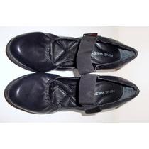 Zapatos Nine West De Vestir De Cuero Negro # 36 !!oferta!!