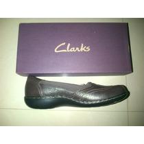 Zapatos Clarks De Dama Original Y Nuevo Talla 38 Y Medio