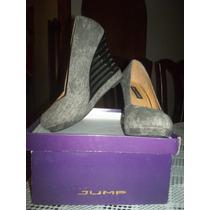 Zapatos De Dama Jump Semi Formal Casuales Talla 37
