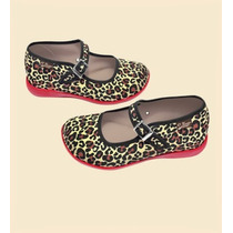 Zapatos Hot Chocolate Leopardo Talla 29