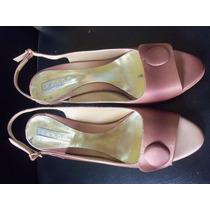 Zapatos De Dama Usado Marca Bardó Talla 38