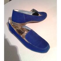 Mocasines Dama Basinger Azules # 39 Nuevos