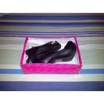 Tacones Elegantes De Vestir Para Dama Talla 36 Negros R8a