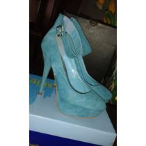 Hermosos Zapatos Tacones Y Sandalias, Perfectas Condiciones