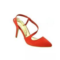 Sandalias Nello Rossi Color Rojo Elegantes