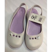 Zapatillas Crocs Perladas