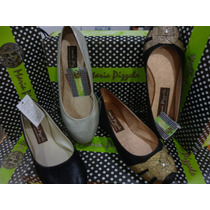 Zapatos Zapatillas Para Dama Marca Maria Pizzola