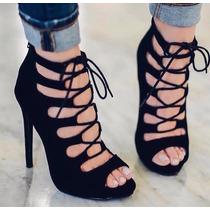 Sandalias Botines Zapatillas Mujer Moda Plataformas Dama