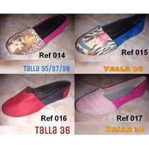Zapatillas De Damas Toreritas Nicole Lee Y Varios Modelos