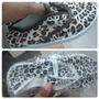 Zapatos De Tela Animal Print Para Damas Y Niñas