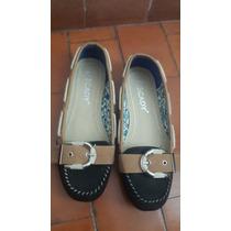 Zapatos Flats Negros Scady Nuevos