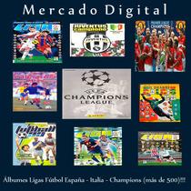 Albumes Panini Liga España Italia Champions Uk Alemania Pdf!