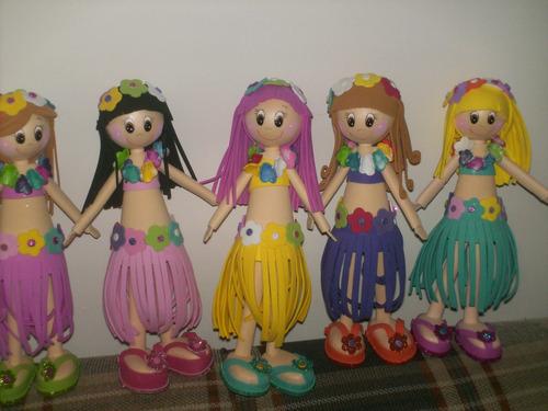 Diseño de muñecas en foami - Imagui