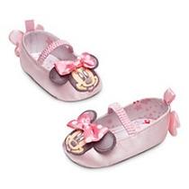 Zapatillas De Bebe Talla 6/12 Meses (original Disney)