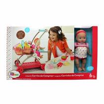 Carrito De Compras Little Mommy Juguete Niñas