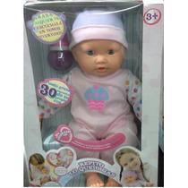 Muñeca Bebe Repite Lo Que Dices Jeidy Toys Original