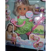 Muñeca Tammy Interactiva Jeisy Toys Habla Sonidos Accesorios