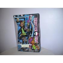 Muñeca Monster High Lobo Clawdeen Wolf - Original De Mattel