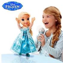 Muñeca Elsa Canta Frozen En Ingles Y Español 100% Importada