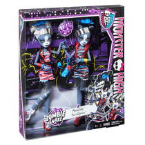Monster High Zombie Shake Meowlody And Purrsephone Doll (2)