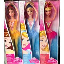 Princesa Bailarina Disney Bella-cenicienta-aurora Mattel