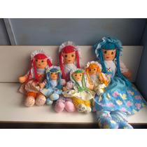 Muñecas De Trapo Niñas Hechas A Mano Peluches Hermosas
