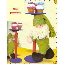 Patron Para Elaborar Noel Pastelero