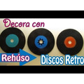 Disco De Acetatos Para Decoraciones (viejos Rayados)