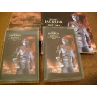 Cassettes Michael Jackson History Libro 52 Pag Cajita
