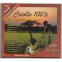 Criollo 100%. Los Grandes Del Llano. Cd Original Nuevo