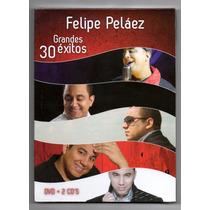 Felipe Pelaez. 30 Grandes Exitos. 2cds+1dvd Original Nuevo.