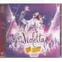 Violetta En Vivo -- Cd-dvd Original -- 8826