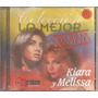 Kiara Y Melissa -- Cd Original -- 7568