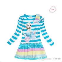 Hermosos Vestidos Serie Frozen Importados