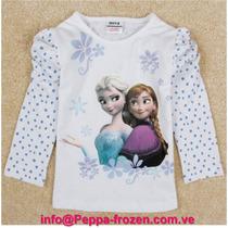 Frozen Camisa Blanca Talla 2t