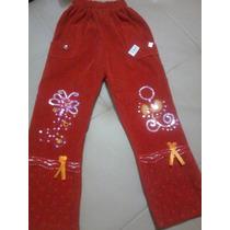 Pantalones Monos Gamusados Para Niñas