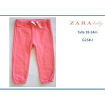 Pantalon Mono Para Niñas Zara Talla 18-24m (g234u)