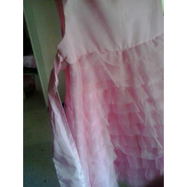 Vestido Rosa Bellisimo Para Ocasion Especial