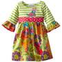 Bello Vestido Para Niñas De Algodon Talla 4