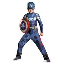 Traje Disfraz Capitan America. Avengers