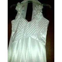 Vestido O Cambio Vestido Blanco Novia Ocasion Especial