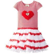 Hermoso Vestido Para Niñas Con Gran Tutu Talla 2