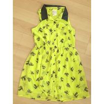 Bello Vestido Casual Para Niñas Talla 10-12