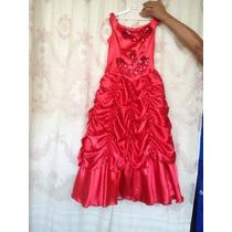 Vestido Elegante De Fiesta Princesa Para Niña Talla 10